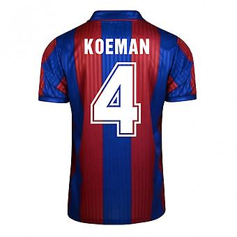 Score Draw Barcelona 1992 Home Shirt (Koeman 4)