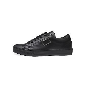 Antony Morato Antony Morato Black Leather Sneaker