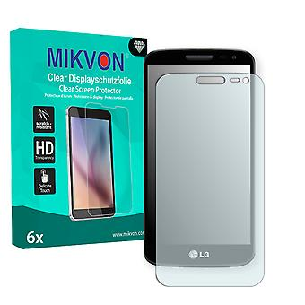 LG G2 mini Screen Protector - Mikvon Clear (Retail Package with accessories)