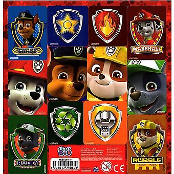 Official PAW PATROL Sticker Sheet Contains 12 Stickers in Total | RED