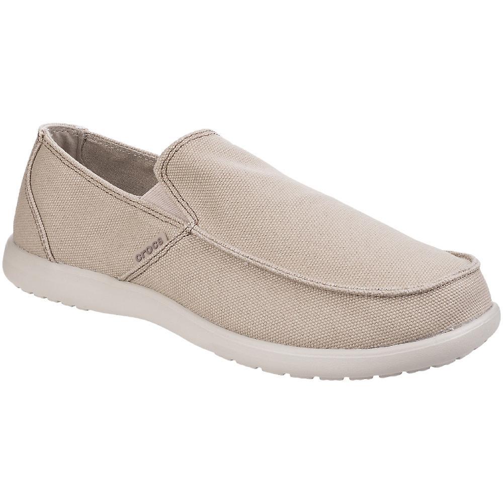 d62e0fa4bad18f Crocs Mens Santa Cruz pulito taglio Slip comodo mocassino scarpe | Ben Noto  Per Le Sue