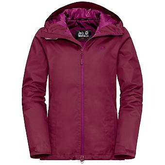 Jack Wolfskin Womens Chilly Morning Jacket Waterproof and Breathable