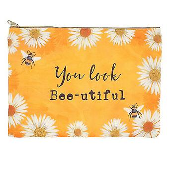 Something Different You Look Bee-utiful Makeup Pouch