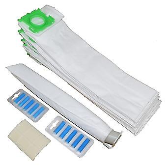 SEBO X Serie Mikrofaser Vakuum Taschen X 10 filtert und Lufterfrischer Service Kit