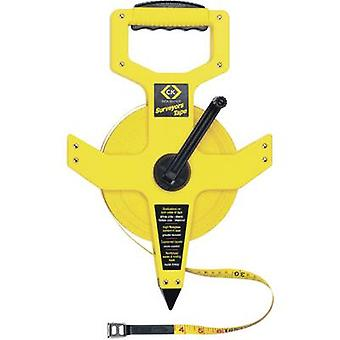 Tape measure 100 m C.K.