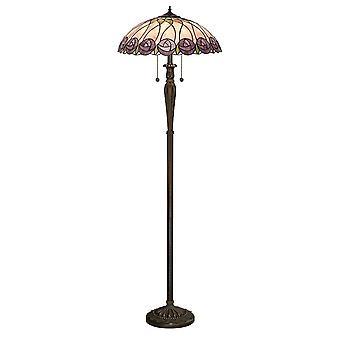 Intérieurs 1900 Hutchinson 2 lumière lampadaire en Bronze Finish Wi