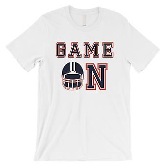 GAME ON Chicago T-Shirt Mens Funny Game Day Shirt Short Sleeve Tee