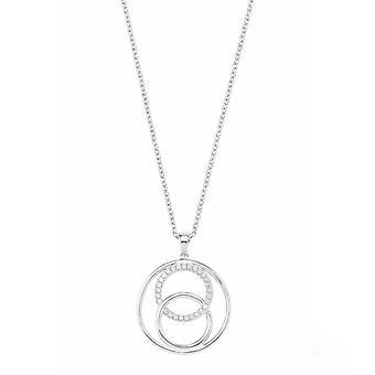 дамы жемчужина s.Oliver цепь цирконий ожерелье серебро 2022737