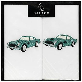 Dalaco Classic auto fazzoletti - bianco