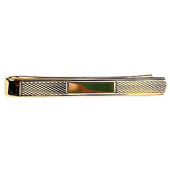 David Van Hagen cevada padrão gravata Slide - ouro