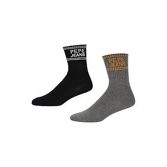 New Designer Womens Pepe Jeans Rib Socks Nikki Gift Set