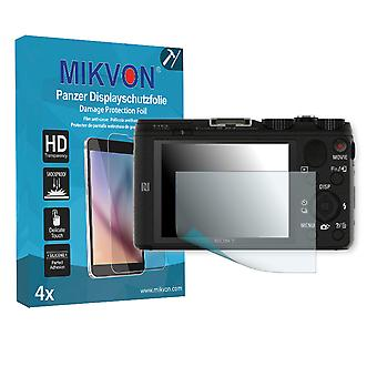 SONY DSC-HX60 Screen Protector - Mikvon Armor Screen Protector (Retail Package with accessories)