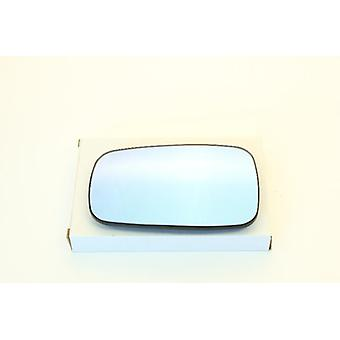 Left / Right Blue Mirror Glass (Heated) For Renault MEGANE mk2 2002-2008