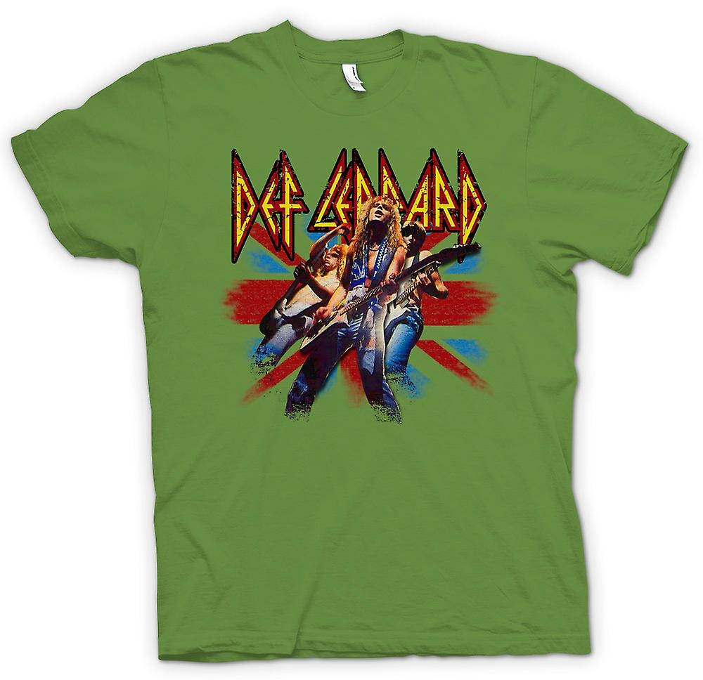 Mens t-shirt - Def Leppard - Rock britannico