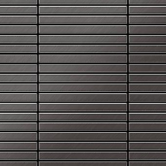 Металлическая мозаика из титана ALLOY Linear-Ti-SB