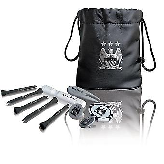 Manchester City FC Tote Bag Golf Set regalo