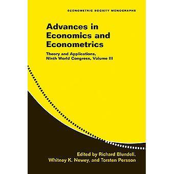 Advances in Economics and Econometrics - Volume 3 - Theory and Applicat