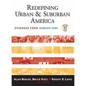 Omdefiniera stads- och förortstrafik Amerika - bevis från folkräkningen 2000 av A