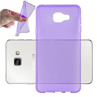 Cadorabo tilfældet for Samsung Galaxy A7 2016 sag Cover-mobiltelefon sag lavet af fleksibel TPU silikone-silikone sag beskyttende sag Ultra Slim Soft tilbage Cover sag kofanger