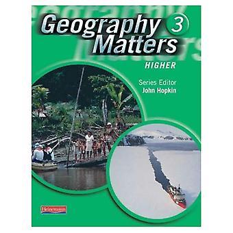 Questions de géographie: 3 - livre de l'élève plus élevée: 3