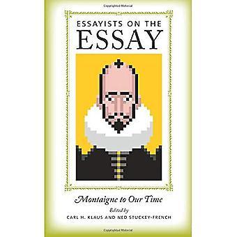 Essäister på uppsatsen: Montaigne till vår tid