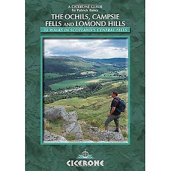 Walking in the Ochils, Campsie Fells and Lomond Hills: 33 Walks in Scotland's Central Fells (Cicerone British Walking)
