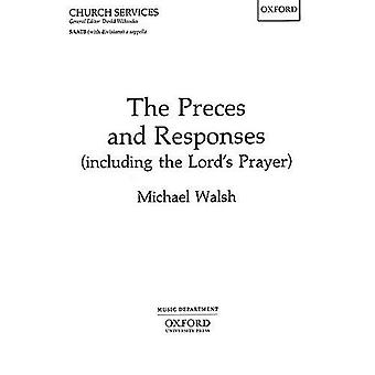The Preces and Responses (Including the Lord's Prayer) - Vocal Score b