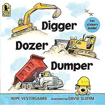 Escavador, escavadora, Dumper