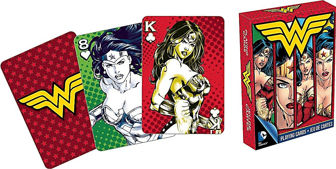 Wonder Woman images set of playing cards    (nm)