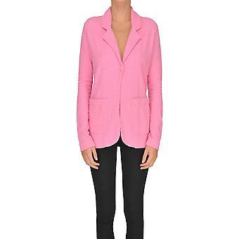 Gotha Pink Cotton Blazer