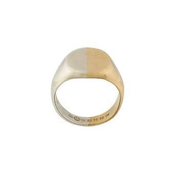 Maison Margiela Gold Silber Ring