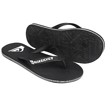 Quiksilver Mens Molokai Sandals - Black/White