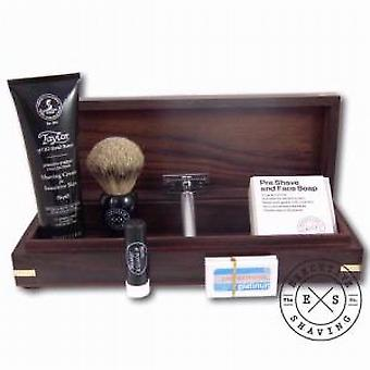 Executive Shaving Deluxe 7 Piece Safety Razor Gift Box Set Ebony