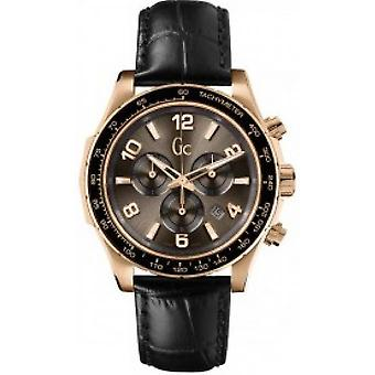 Watch Gc X51001G1S - leather Fine black woman