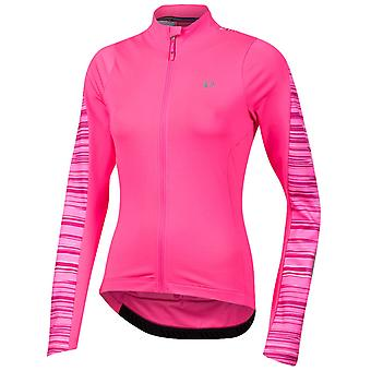 Pearl Izumi Screaming Pink Rush Elite Pursuit Thermal Womens Long Sleeved Cyclin