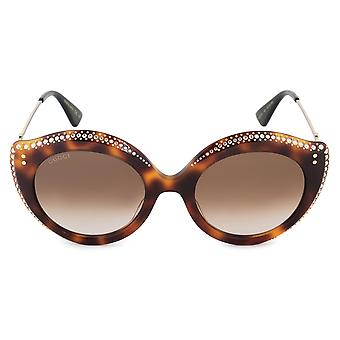 Gucci GG0214S 003 52 Cat Eye Sunglasses