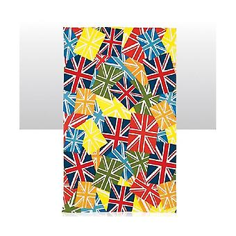 Union Jack use Union Jack Multi color té toalla