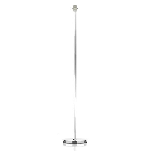 Dar TUS4950 Tuscan Floor Lamp With A Polished Chrome Finish - Base Only