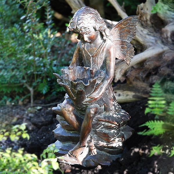 Home And Garden Resin Woodland Fairy
