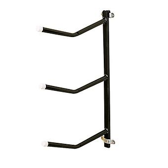 Stubbs Saddle Rack Triple Arm Clip-On S333