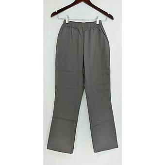 Petite Leggings Stretch Boot Cut Grey A01724