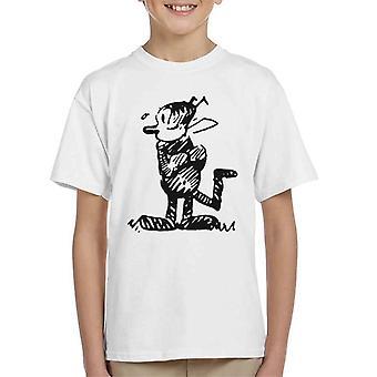 Krazy Kat Stood Up Kid's T-Shirt