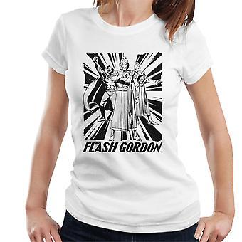 Flash Gordon Ming Trio Frauen's T-Shirt