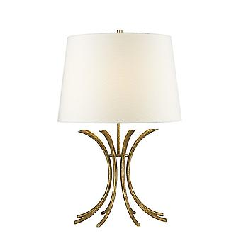 Vergulde Nola verguld Nola Distressed Gold traditionele tafel lamp