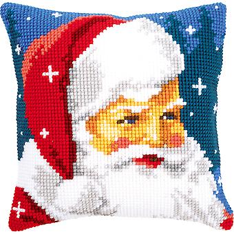 Kind Santa Cushion Cross Stitch Kit-16