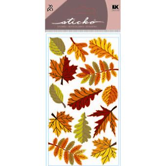 Sparkler Classic Stickers Fall Leaves E5220044