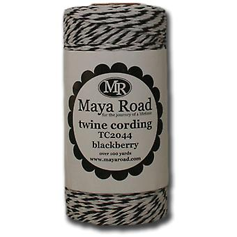 Twine Cording 100 Yards Roll Blackberry Tc2 44