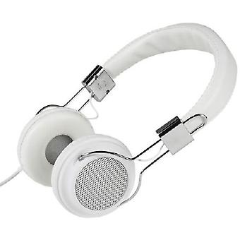 Vivanco White headband headphones col400