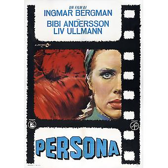 Persona Italian Poster Liv Ullmann 1966 Movie Poster Masterprint