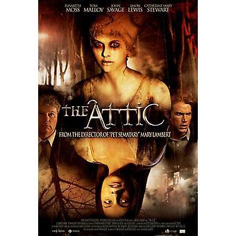 O cartaz do filme Attic (11 x 17)